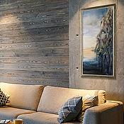 Картины и панно handmade. Livemaster - original item Painting acrylic. Poseidon. Framed.. Handmade.