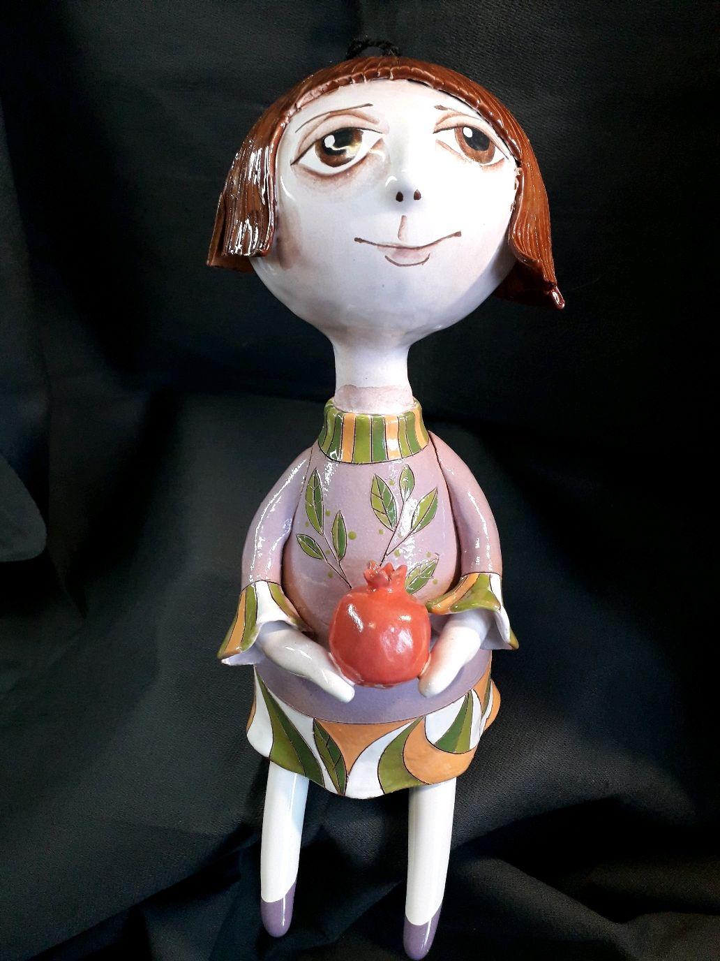 """Кукла колокольчик """"Девочка  с гранатом"""", Колокольчики, Смоленск,  Фото №1"""