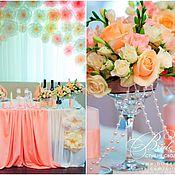 Свадебный салон ручной работы. Ярмарка Мастеров - ручная работа Свадьба в персиковом цвете - нежная, яркая и удивительно уютная. Handmade.