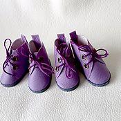 Одежда для кукол ручной работы. Ярмарка Мастеров - ручная работа Ботинки для кукол Паола Рейна и текстильных кукол. Handmade.