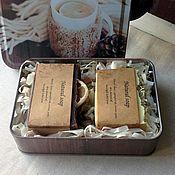 """Подарки к праздникам ручной работы. Ярмарка Мастеров - ручная работа """"Уютный вечер"""" Набор мыла с нуля. Handmade."""