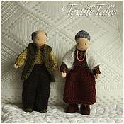 Куклы и игрушки ручной работы. Ярмарка Мастеров - ручная работа Каркасные куколоки Бабуля и Дедуля. Handmade.