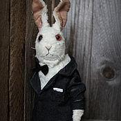 Куклы и игрушки handmade. Livemaster - original item White rabbit 007. Handmade.