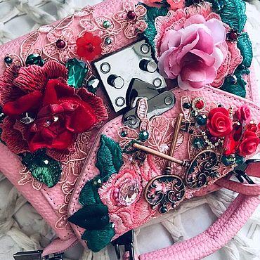 """Сумки и аксессуары ручной работы. Ярмарка Мастеров - ручная работа (-60%)Сумка""""Pink Baby""""в стиле DG. Handmade."""