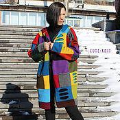 Одежда handmade. Livemaster - original item Women`s long cardigan with a hood. Handmade.