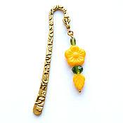 handmade. Livemaster - original item Bookmark for the book Spring. Handmade.