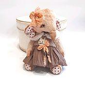Мягкие игрушки ручной работы. Ярмарка Мастеров - ручная работа Слоняша Тедди. Handmade.