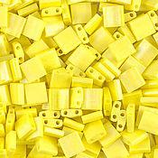 Материалы для творчества ручной работы. Ярмарка Мастеров - ручная работа Миюки ТИЛА 404FR opaque matte rainbow yellow 10гр. Handmade.