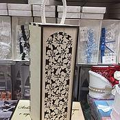 Ящики ручной работы. Ярмарка Мастеров - ручная работа Ящик для вина. Handmade.
