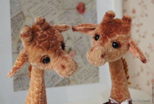 """Мишки Тедди ручной работы. Ярмарка Мастеров - ручная работа. Купить Выкройка жирафа """"Мариус"""". Handmade. Бежевый, выкройка"""