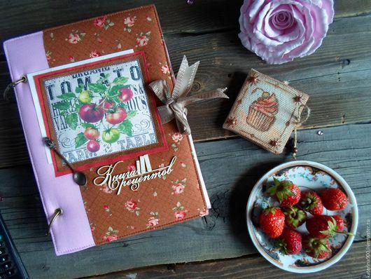 """Кулинарные книги ручной работы. Ярмарка Мастеров - ручная работа. Купить Кулинарная книга """"TOMATO"""". Handmade. Комбинированный, подарок девушке"""