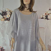 Одежда handmade. Livemaster - original item Summer poncho, oversize.. Handmade.