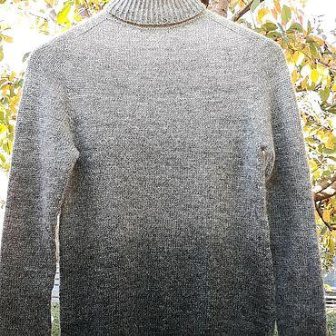 Одежда ручной работы. Ярмарка Мастеров - ручная работа Мериносовый свитер с градиентом. Handmade.