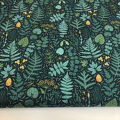 Материалы для творчества handmade. Livemaster - original item Jacket fabric duspo Fern. Handmade.