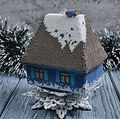Подарки к праздникам ручной работы. Ярмарка Мастеров - ручная работа Домик для Снегурочки. Handmade.