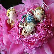 Куклы и игрушки ручной работы. Ярмарка Мастеров - ручная работа Цветочные жители (мальчишки). Handmade.