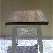 Для дома и интерьера ручной работы. Ярмарка Мастеров - ручная работа Деревянный табурет (001). Handmade.
