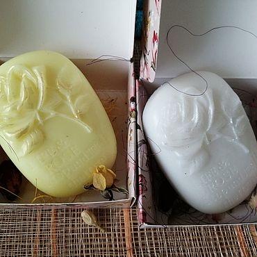 Косметика ручной работы. Ярмарка Мастеров - ручная работа Декоративное мыло. Handmade.