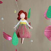 Куклы и игрушки ручной работы. Ярмарка Мастеров - ручная работа мобиль Фея цветов. Handmade.