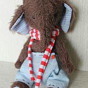 Куклы и игрушки ручной работы. Ярмарка Мастеров - ручная работа Тедди Слоник. Handmade.