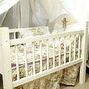 Куклы и игрушки ручной работы. Ярмарка Мастеров - ручная работа кровать для куклы. Handmade.