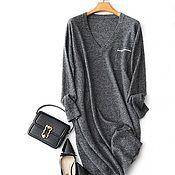 Одежда handmade. Livemaster - original item Sport-chic cashmere dress. Handmade.