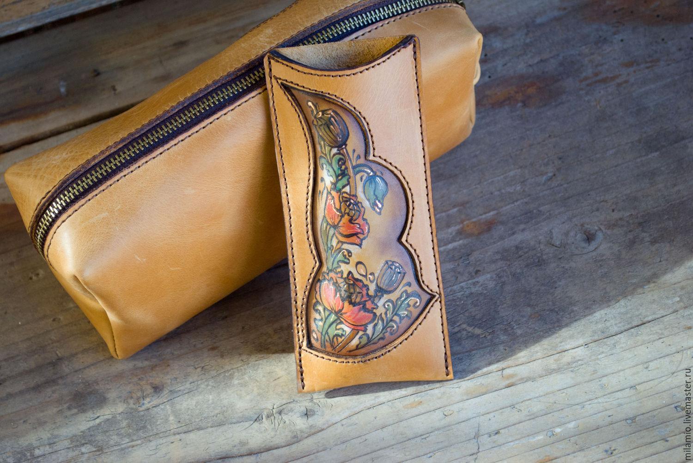 Мастер-класс по пошиву кожаного чехла для телефона (Iphone SE) 14