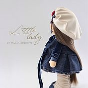 Куклы и игрушки ручной работы. Ярмарка Мастеров - ручная работа Маленькая леди. Handmade.