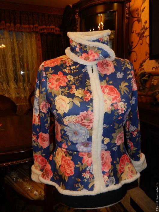 Пиджаки, жакеты ручной работы. Ярмарка Мастеров - ручная работа. Купить Жакет меховой. Handmade. Комбинированный, пошив на заказ