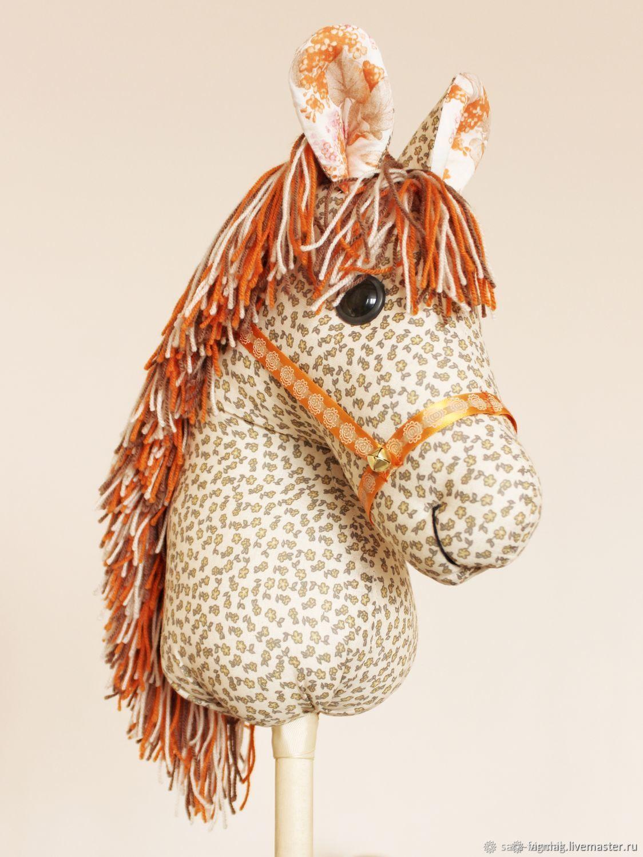 Horse on a stick, Stuffed Toys, Ivanovo,  Фото №1