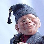 """Куклы и игрушки ручной работы. Ярмарка Мастеров - ручная работа Гном """"Пан Клопс"""" нашел дом. Handmade."""