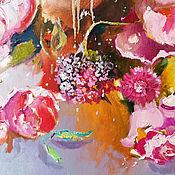 Картины и панно handmade. Livemaster - original item Flowering morning - oil painting. Handmade.