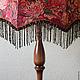 торшер светильник напольный лампа напольная авторский светильник абажур ева шадрина