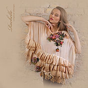 Одежда ручной работы. Ярмарка Мастеров - ручная работа Блузка Mon cherie, cherie 5. Handmade.