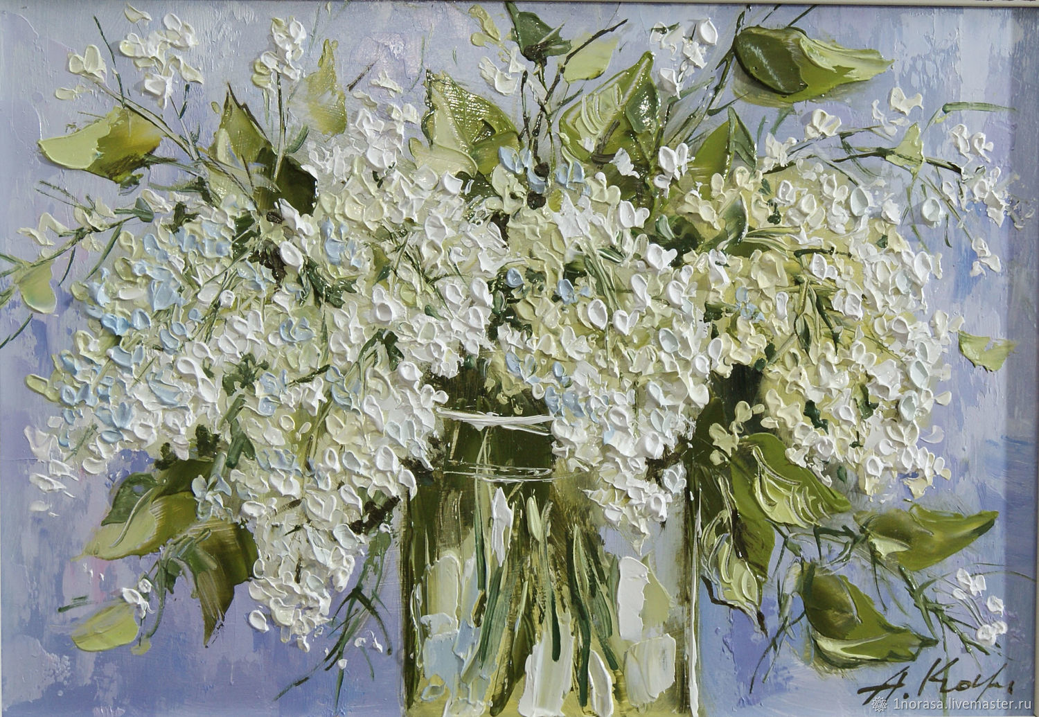 Paintings: white lilac, Pictures, Chelyabinsk,  Фото №1