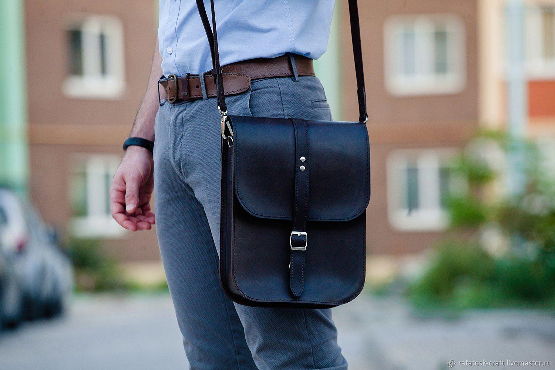 Bag mens leather tablet BONN, Men\'s bag, Volgograd,  Фото №1