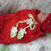 Работы для детей, ручной работы. Ярмарка Мастеров - ручная работа Кокон для куклы реборн или для новорожденного. Handmade.
