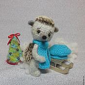 Куклы и игрушки ручной работы. Ярмарка Мастеров - ручная работа Ежик вязаный. Handmade.