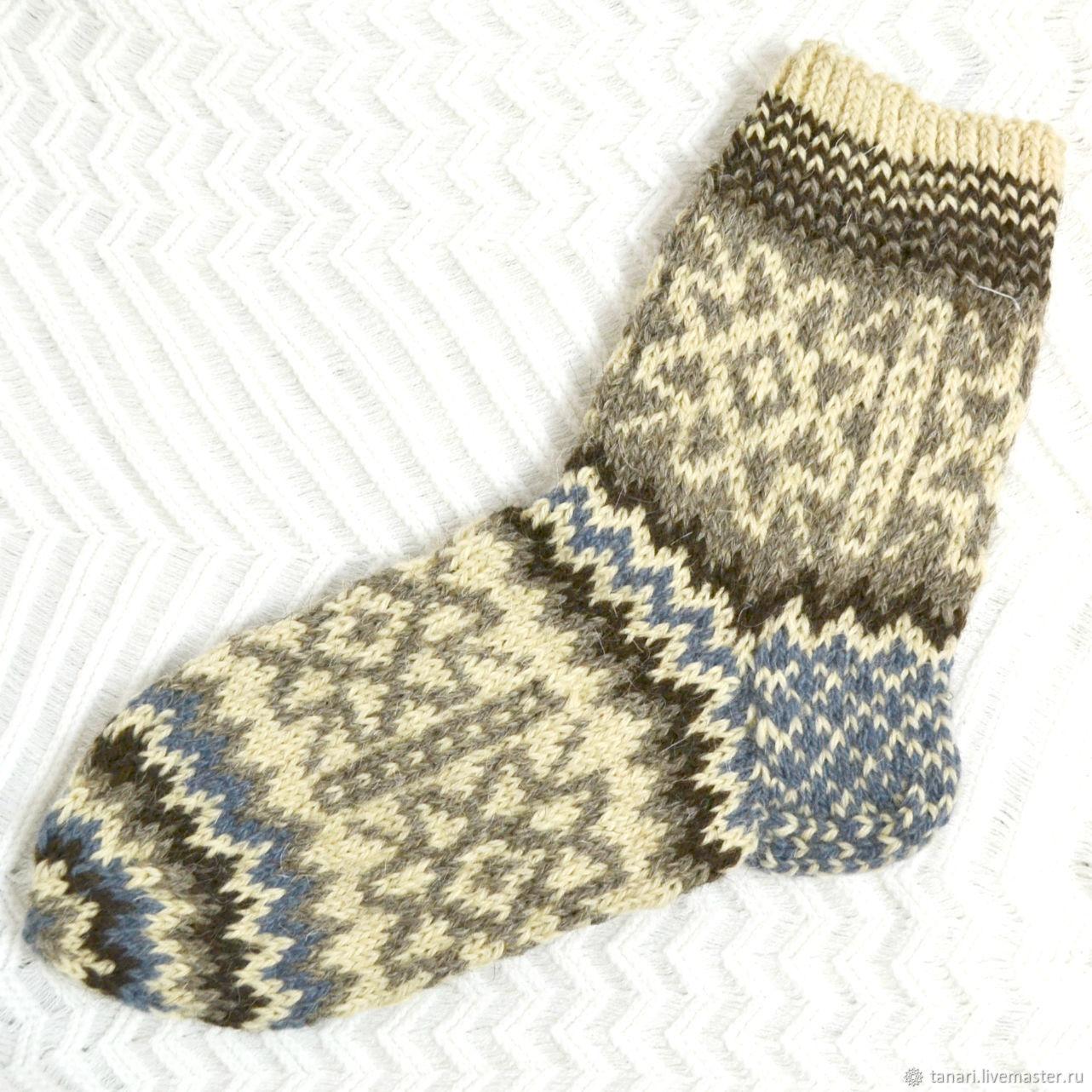 92afd9368a08d Носки, Чулки ручной работы. Ярмарка Мастеров - ручная работа. Купить  Шерстяные носки ручной ...