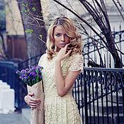 Одежда ручной работы. Ярмарка Мастеров - ручная работа Кружевное платье. Handmade.