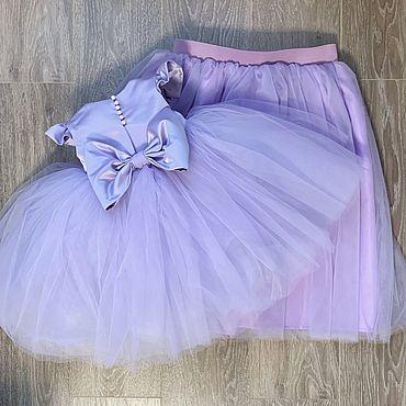 Одежда ручной работы. Ярмарка Мастеров - ручная работа Пышное платье. Handmade.