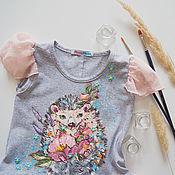 Работы для детей, handmade. Livemaster - original item bebé vestido de Ezhinka. Handmade.