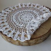 Для дома и интерьера handmade. Livemaster - original item Openwork cotton napkin