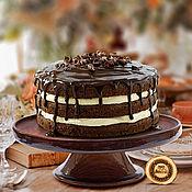 Для дома и интерьера handmade. Livemaster - original item Tortorice of SIBERIAN pine stand for your cupcakes and cakes #T4. Handmade.