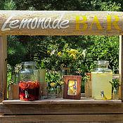 Для дома и интерьера ручной работы. Ярмарка Мастеров - ручная работа Лимонад бар. Handmade.