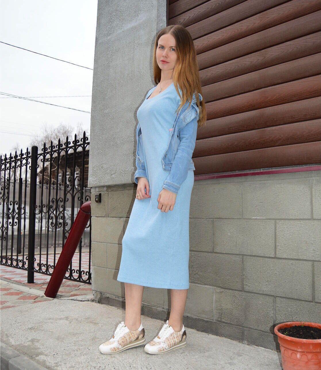 Шитые платья из трикотажа