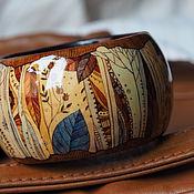 Украшения ручной работы. Ярмарка Мастеров - ручная работа браслет Сны августовских трав. Handmade.