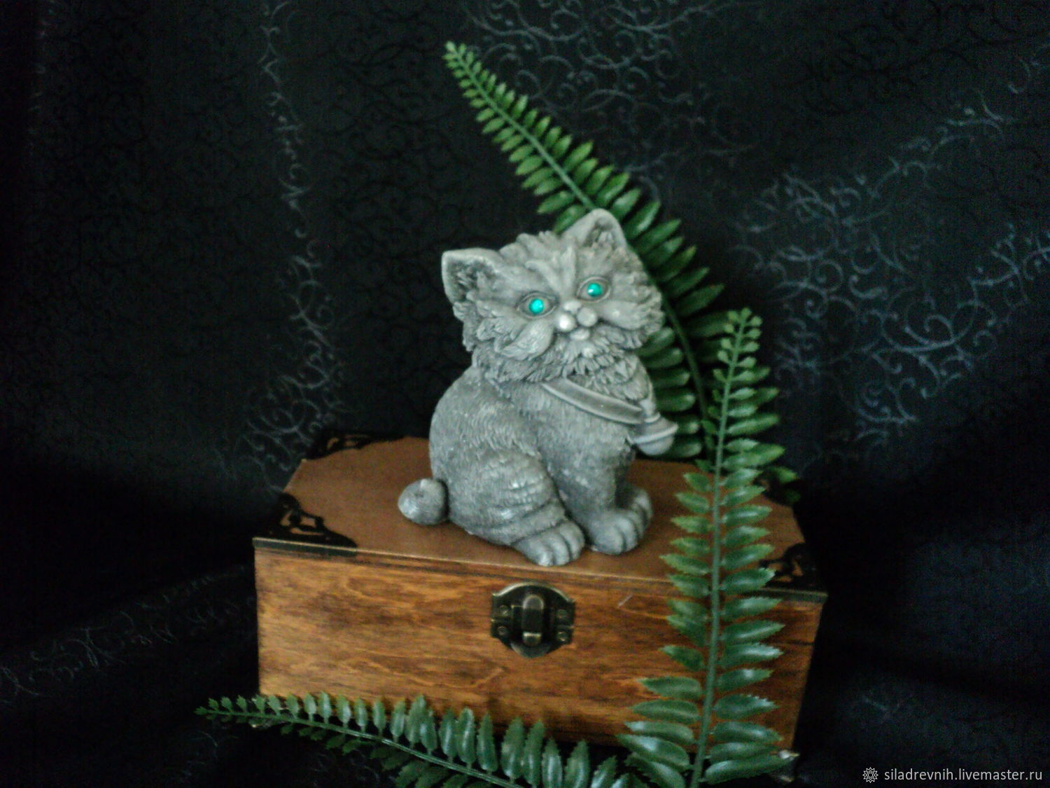 Runic guardian Cat. (with a connection), Amulet, St. Petersburg,  Фото №1