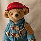 Мишки Тедди ручной работы. Медвежонок Падди. VELVET Bear. Интернет-магазин Ярмарка Мастеров. Медведь тедди, velvet-bear