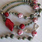 Украшения handmade. Livemaster - original item Boho necklace